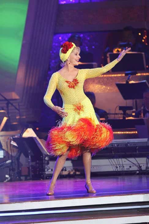 Florence Henderson turns 79 on Feb. 14, 2013. The actress is best known for her role as Carol Brady in the hit family sitcom &#39;The Brady Bunch&#39; and appeared on ABC&#39;s &#39;Dancing With The Stars&#39; in 2010.&#40;Pictured: Florence Henderson performs on the season finale of &#39;Dancing With the Stars&#39; on Tuesday, November 23, 2010.&#41; <span class=meta>(ABC)</span>