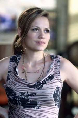 Bethany Joy Galeotti in a scene from 'One Tree Hill.'