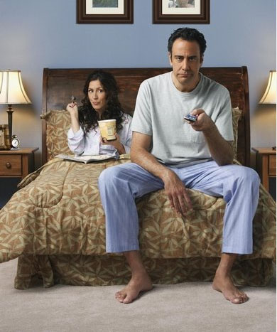 Brad Garrett turns 52 on April 14, 2012. The actor is known for shows such as &#39;Everybody Loves Raymond,&#39; &#39;Til Death,&#39; and films such as &#39;The Pacifier&#39; and &#39;Finding Nemo.&#39; &#40;Pictured:  Brad Garrett &#40;right&#41; and co-star, Joely Fisher &#40;left&#41;, in &#39;Til Death.&#39;&#41; <span class=meta>(Impact Zone Productions&#47;Sony Pictures Television)</span>