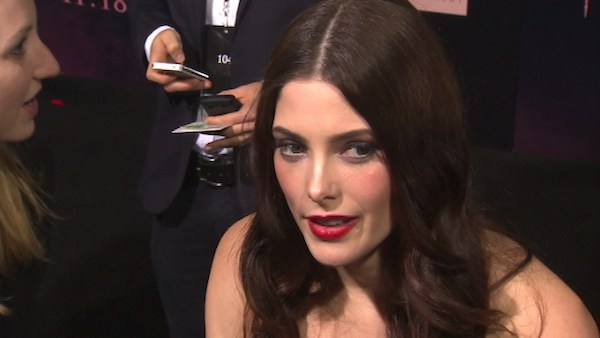Ashley Greene talks to OnTheRedCarpet.com at the...