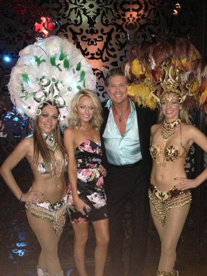 David Hasselhoff of &#39;Baywatch&#39; fame posted this photo on Twitter on Dec. 31, 2012, saying: &#39;Happy New year at revolution de Cuba.&#39; <span class=meta>(twitter.com&#47;DavidHasselhoff&#47;status&#47;285875990461308928&#47;photo&#47;1)</span>