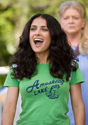 (Pictured: Salma Hayek in a scene from the 2010 movie 'Grown Ups.')