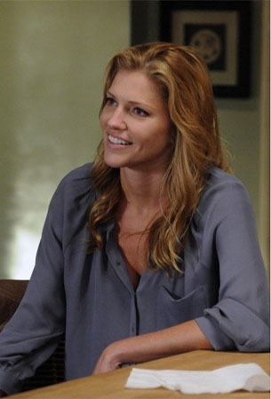 Tricia Helfer turns 38 on April 11, 2012. The actress is known for shows such as &#39;Battlestar Galactica,&#39; &#39;Battlestar Galactica: Razor,&#39; and films such as &#39;Walk All Over Me.&#39;  <span class=meta>(Imagine Television&#47;Samuel Baum Productions&#47;Middkid Productions)</span>