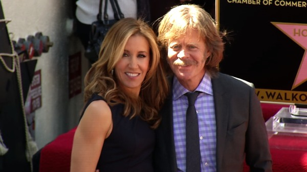 "<div class=""meta image-caption""><div class=""origin-logo origin-image ""><span></span></div><span class=""caption-text"">William H. Macy turns 62 on March 13, 2012. The actor is known for films such as 'Fargo,' 'Pleasantville' and 'Marmaduke.'  He currently plays alcoholic dad Frank on the Showtime series 'Shameless.'  (Pictured: Married actors William H. Macy, left, and Felicity Huffman of 'Desperate Housewives' pose together after a joint star ceremony on the Hollywood Walk of Fame in Los Angeles, Wednesday, March 7, 2012. Check out details and video from this event here.) (OTRC)</span></div>"