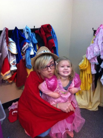 Jamie Lynn Spears and daughter Maddie appear in a photo posted on her Twitter page on April 3, 2011.