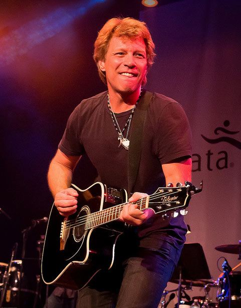 Jon Bon Jovi performs at the House of Blues in...