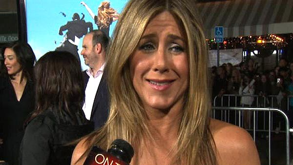 Jennifer Aniston talks to OnTheRedCarpet.com at...