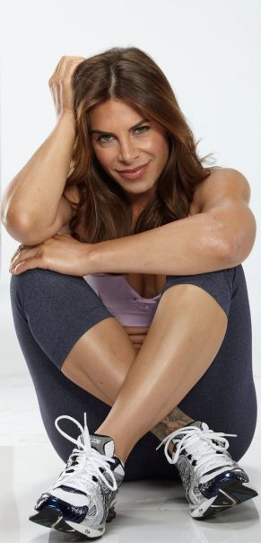 Jillian Michaels, celebrity trainer, appears in a photo posted on her Facebook page.