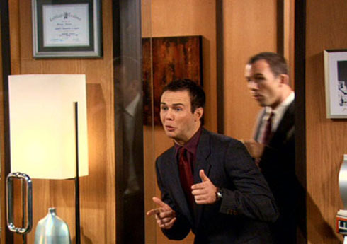 Taran Killam in 'How I Met Your Mother' as Blauman.