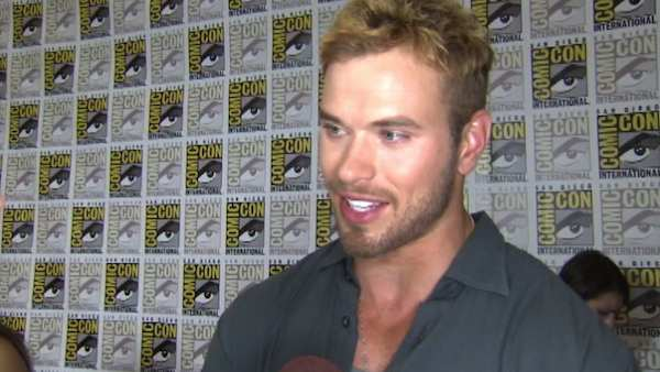 Kellan Lutz turns 27 on March 15, 2012.  The actor and model is best known for his role as Emmett Cullen in the &#39;Twilight&#39; film series.  He also appeared in a 2010 remake of &#39;A Nightmare on Elm Street.&#39; &#40;Pictured: Kellan Lutz talks to OnTheRedCarpet.com at Comic-Con in San Diego in July 2011.&#41; <span class=meta>(OTRC)</span>