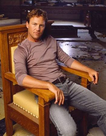 Brian Krause as Leo Wyatt in the hit TV drama,...