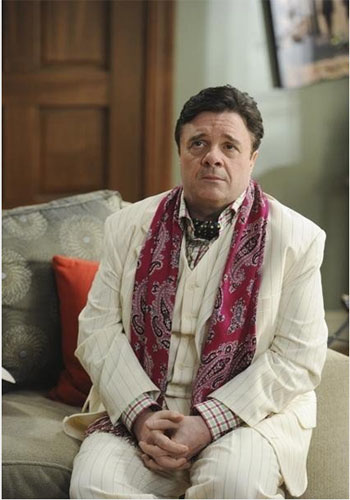 Nathan Lane turns 57 on Feb. 3, 2013. The actor is known for movies such as &#39;The Producers,&#39; &#39;Mousehunt,&#39; and &#39;The Lion King.&#39; &#40;Pictured: Nathan Lane appears on the hit TV comedy show &#39;Modern Family.&#39;&#41; <span class=meta>(American Broadcasting Companies, Inc.)</span>