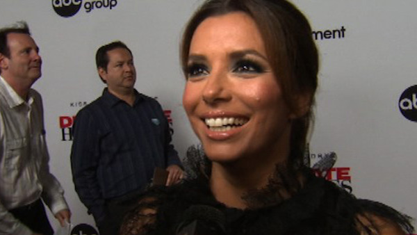 "<div class=""meta image-caption""><div class=""origin-logo origin-image ""><span></span></div><span class=""caption-text"">Eva Longoria turns 37 on March 15, 2012. The actress is known for her role as Gabrielle in the ABC television show 'Desperate Housewives.'  She has also starred in films such as 'Over Her Dead Body' and 'The Heartbreak Kid.'  (Pictured: Eva Longoria talks to OnTheRedCarpet.com at a Los Angeles event celebrating the premiere of the eighth and final season of the ABC show 'Desperate Housewives' on Sept. 21, 2011.) (OTRC)</span></div>"