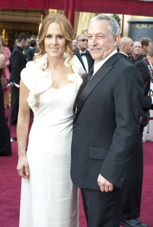 Sarah Siegel-Magness and Gary Magness on the red carpet, 2010.