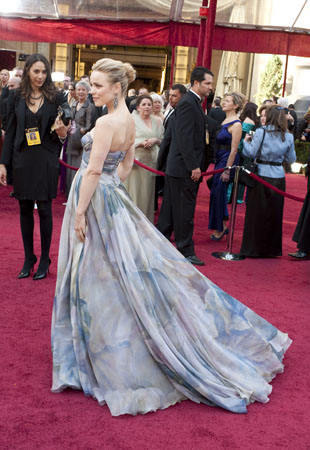 Rachel McAdams on the red carpet, 2010.