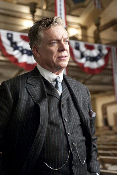 Christopher McDonald turns 58 on Feb. 15, 2013. The actor is known for movies such as &#39;Happy Gilmore,&#39; &#39;Thelma and Louise,&#39; &#39;The Iron Giant&#39; and &#39;Requiem for a Dream&#39; and the television series &#39;Boardwalk Empire.&#39; &#40;Pictured: Christopher McDonald in a scene from the television series &#39;Boardwalk Empire.&#39;&#41; <span class=meta>(Home Box Office&#40;HBO&#41; &#47; Leverage Management)</span>