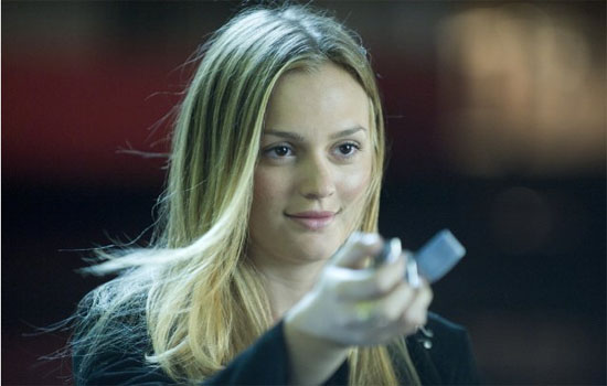 Leighton Meester in a scene from 'The Roommate.'