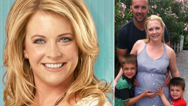 Melissa Joan Hart turns 36 on April 18, 2012. The actress is known for shows such as &#39;Clarissa Explains It All,&#39; &#39;Sabrina, The Teenage Witch,&#39; Melissa and Joey&#39; and films such as &#39;Drive Me Crazy&#39; and &#39;Nine Dead.&#39;  She announced some pretty special pre-birthday news on her Twitter page the day before.  &#39;&#40;Early&#41; Happy Birthday to me! And baby makes 3!,&#39; she Tweeted on Tuesday, April 17.  She also posted a photo that shows her standing with her husband and their two sons Mason, 6, and Braydon, 4. The three are putting their hands on Hart&#39;s baby bump.  <span class=meta>(ABC)</span>