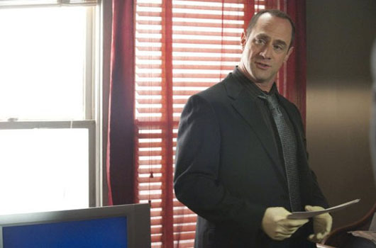 Christopher Meloni turns 51 on April 2, 2012. The award nominated actor is known for shows such as &#39;Law &amp; Order: Special Victims Unit,&#39; and films such as &#39;Bound,&#39; &#39;Runaway Bride,&#39; and &#39;Twelve Monkeys.&#39;  <span class=meta>(Wolf Films&#47;Universal Media Studios &#40;Virginia Sherwood&#41;)</span>