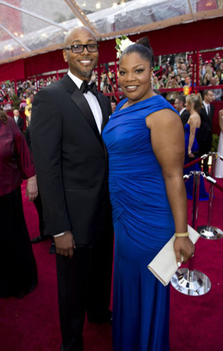 Mo'Nique and Sidney Hicks on the red carpet, 2010.