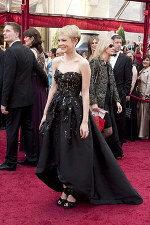 Carey Mulligan on the red carpet, 2010.