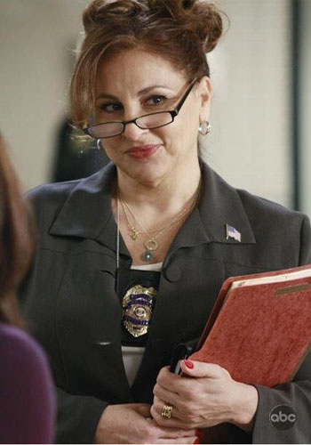 Kathy Najimy turns 56 on Feb. 6, 2013. The actress is known for movies such as &#39;Sister Act,&#39; Sister Act 2: Back in the Habit,&#39; and as the voice of Peggy in &#39;King of the Hill.&#39; She also appears in the winter 2013 season of the Food Network&#39;s &#39;Rachael vs. Guy: Celebrity Cook-Off.&#39; &#40;Kathy Najimy in a scene from &#39;Desperate Housewives.&#39;&#41; <span class=meta>(Cherry Alley Productions&#47;Cherry Productions&#47;Touchstone Television)</span>