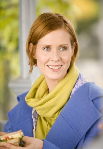 Cynthia Nixon in a scene from the film, 'Sex and...