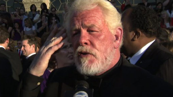 Nick Nolte talks to OTRc.com at the Screen...