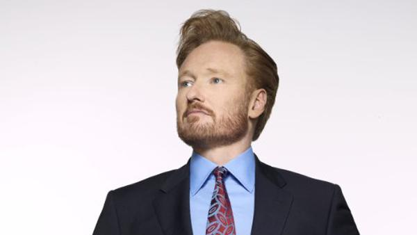 "<div class=""meta ""><span class=""caption-text "">Conan O'Brian turns 49 on April 18, 2012. (PBS)</span></div>"