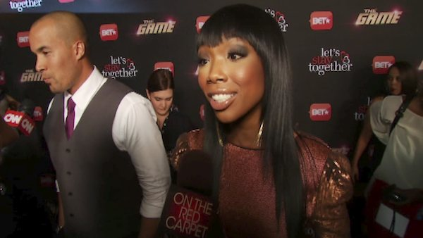 Brandy Norwood talks to OnTheRedCarpet.com at...
