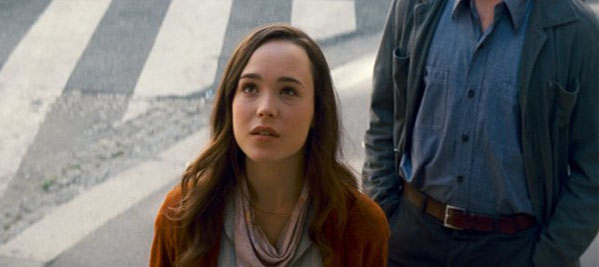 Ellen Page in a scene from 'Inception.'