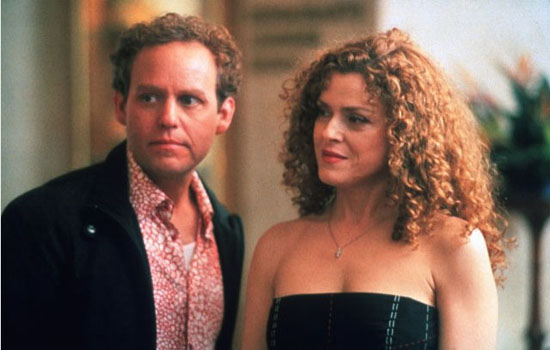 Bernadette Peters (right) in a scene for the television series 'Ally McBeal.'