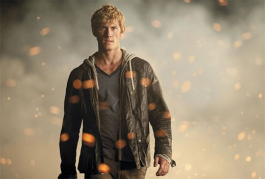 Alex Pettyfer in a scene from 'I Am Number Four.'