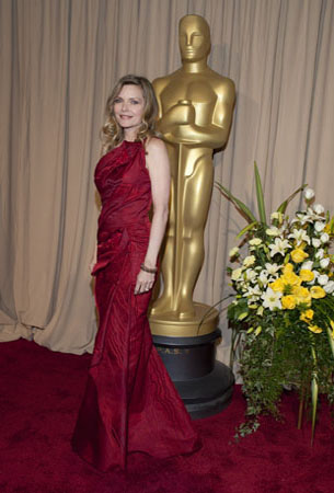 Michelle Pfeiffer on the red carpet, 2010.