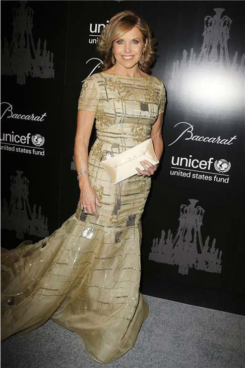 Katie Couric appears at the Ninth Annual UNICEF Snowflake Ball in New York City on Dec. 3, 2013. <span class=meta>(Amanda Schwab&#47;Startraksphoto.com)</span>