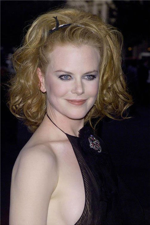 Nicole Kidman arrives at the Paris Theatre for the World Premiere of 'The Others' on Aug. 2, 2001.