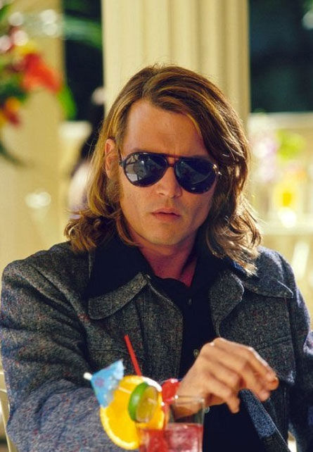 Johnny Depp in a scene from the 2001 film 'Blow.'