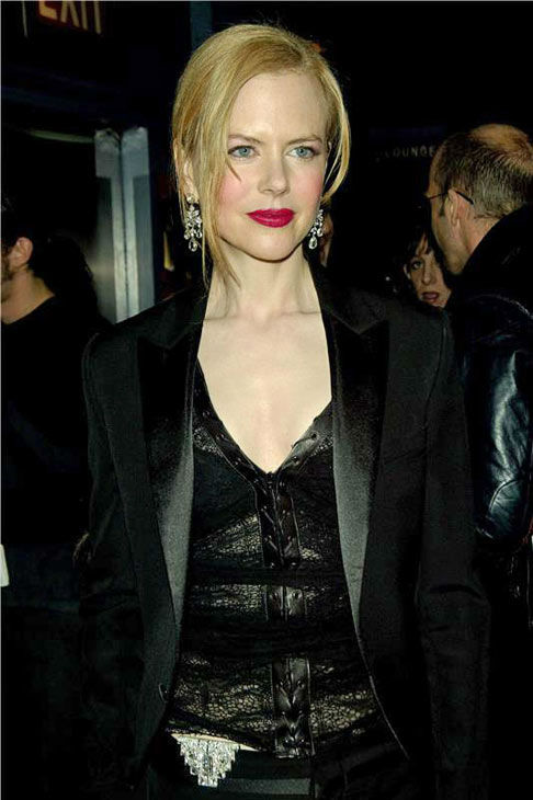 Nicole Kidman appears at the New York premiere of Paramount pictures &#39;The Hours&#39; on Dec. 15, 2002. <span class=meta>(Photo&#47;STARTRAKS PHOTO)</span>