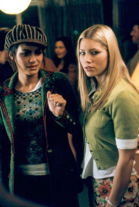 Jessica Biel and Shannyn Sossamon appear in a...