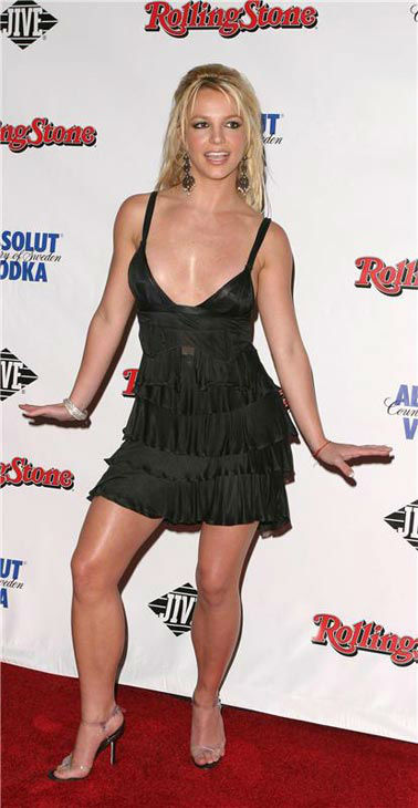 Britney Spears appears at a Rolling Stone magazine party in New York City on Sept. 15, 2003.  <span class=meta>(Marion Curtis &#47; Star Pix &#47; startraksphoto.com)</span>