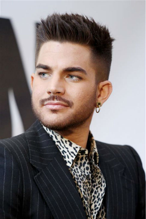 Adam Lambert appears with Queen members Brian May and Roger Taylor &#40;not pictured&#41; at a press conference at New York City&#39;s Madison Square Garden on March 6, 2014, in which they announced a summer North American tour. <span class=meta>(Mario Curtis &#47; Startraksphoto.com)</span>