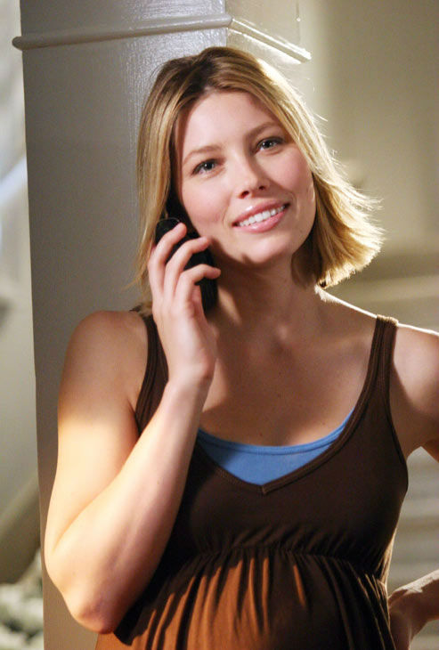 Jessica Biel appears in a still from '7th Heaven.'