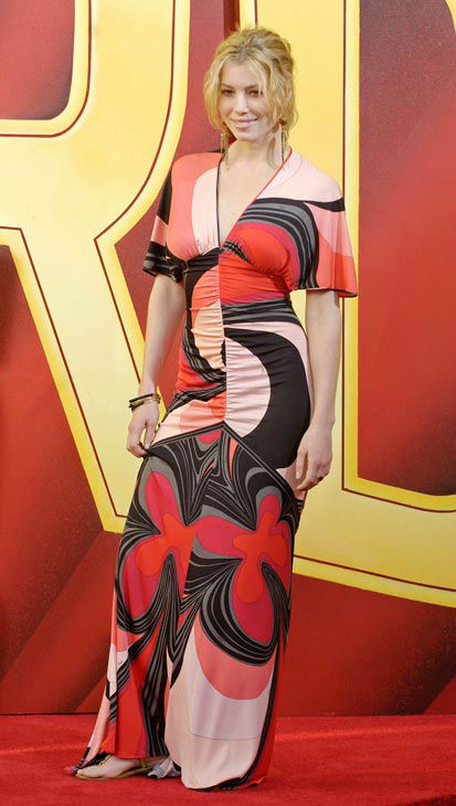 "<div class=""meta ""><span class=""caption-text "">Jessica Biel arrives for the MTV Movie Awards on Saturday, June 4, 2005, in Los Angeles. (AP Photo/CHRIS PIZZELLO)</span></div>"
