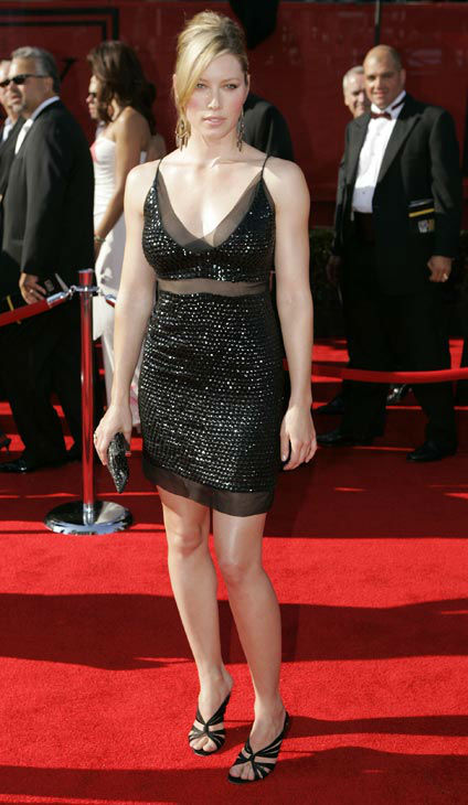 "<div class=""meta ""><span class=""caption-text "">Actress Jessica Biel arrives for the 13th Annual ESPY Awards Wednesday, July 13, 2005 in the Hollywood area of Los Angeles.  (AP Photo/MARK TERRILL)</span></div>"