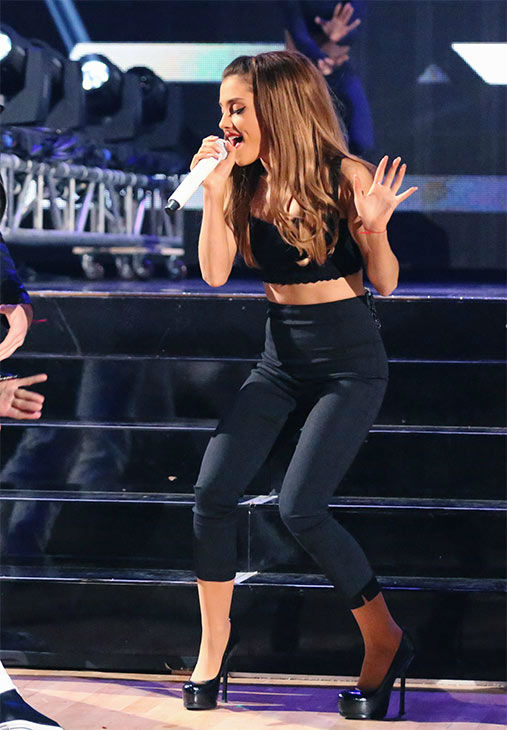 Ariana Grande performs her hit single &#39;Problem&#39; during the season 18 finale of &#39;Dancing With the Stars&#39; on May 20, 2014. <span class=meta>(ABC Photo)</span>