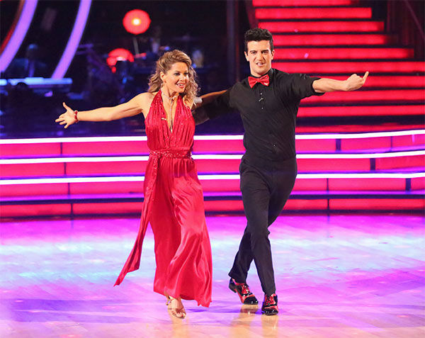 "<div class=""meta ""><span class=""caption-text "">Candace Cameron Bure and Mark Ballas perform a Quickstep/Samba 'Fusion Dance' on week 10 of 'Dancing With The Stars' on May 20, 2014. They received 27 out of 30 points from the judges. On Monday, the pair received 27 out of 30 points for their 'Judges' Pick' Quickstep and 24 out of 30 points for their Freestyle for a total of 78 out of 90 points. (ABC Photo)</span></div>"