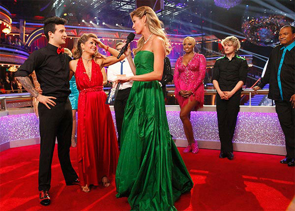 Candace Cameron Bure and Mark Ballas talk to Erin Andrews after their Quickstep&#47;Samba &#39;Fusion Dance&#39; during the season 18 finale of &#39;Dancing With the Stars&#39; on May 20, 2014. <span class=meta>(ABC Photo)</span>