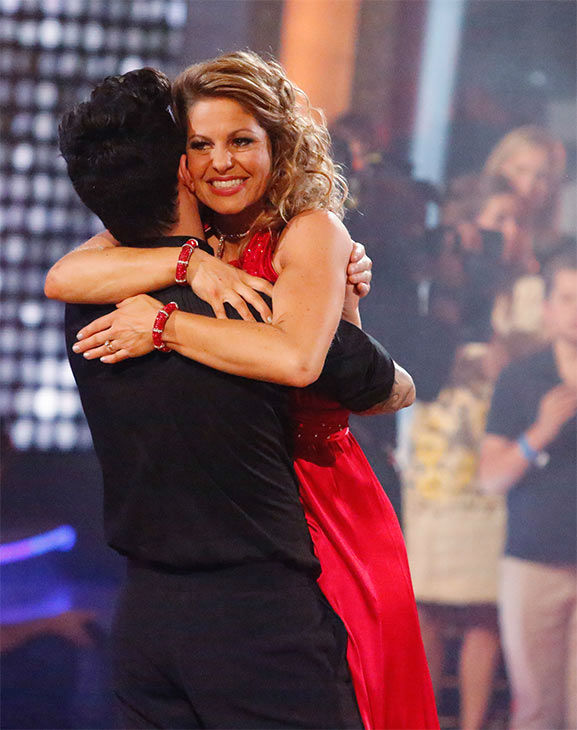 "<div class=""meta ""><span class=""caption-text "">Candace Cameron Bure and Mark Ballas react to coming in third place on the season 18 finale of 'Dancing With The Stars' on May 20, 2014. On Tuesday, they received 27 out of 30 points from the judges for their Quickstep/Samba 'Fusion Dance.' On Monday, the pair received 27 out of 30 points for their 'Judges' Pick' Quickstep and 24 out of 30 points for their Freestyle for a total of 78 out of 90 points. (ABC Photo)</span></div>"