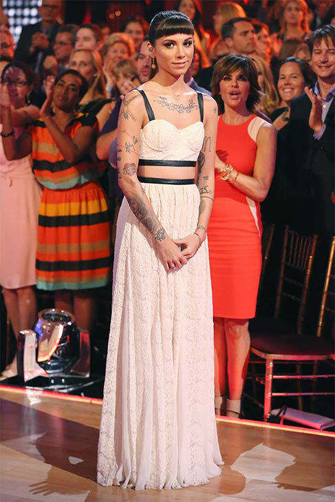 "<div class=""meta ""><span class=""caption-text "">Christina Perri performed her ballad 'Human' during the season 18 finale of 'Dancing With the Stars' on May 20, 2014. (ABC Photo)</span></div>"