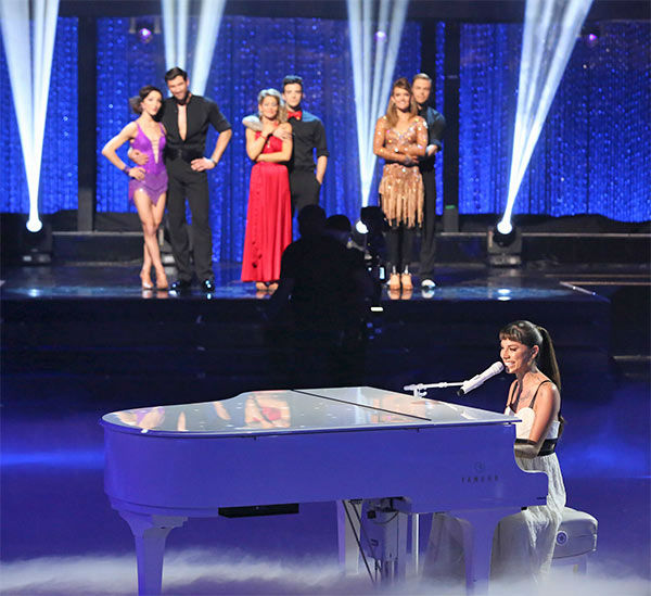 Christina Perri performed her ballad &#39;Human&#39; during the season 18 finale of &#39;Dancing With the Stars&#39; on May 20, 2014. <span class=meta>(ABC Photo)</span>
